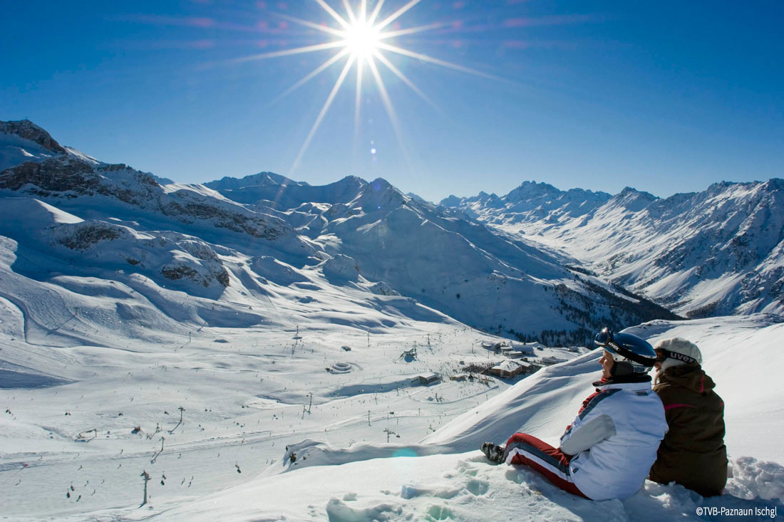 Silvretta Skiarena Ischgl Paznautal